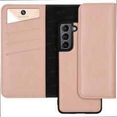 Selencia Eny Pochette in Pelle Vegana rimovibile Samsung Galaxy S21 Plus - Rosa