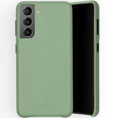 Selencia Gaia Cover Snake Samsung Galaxy S21 - Verde