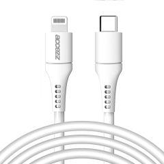 Accezz Cavo Accezz da USB-C Illuminazione 2 Metri -  2 metro  - Bianco