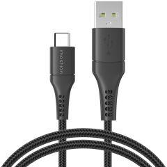 iMoshion Cavo Intrecciato da USB-C a USB 1,5 Metri -  1,5 metro  - Nero