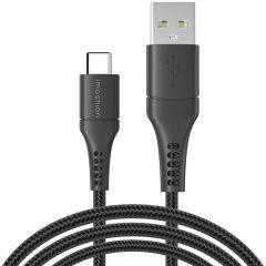 iMoshion Cavo Intrecciato da USB-C a USB 1,5 Metri -  3 metro  - Nero
