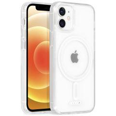 Accezz Cover trasparente con MagSafe iPhone 12 Mini - Trasparente