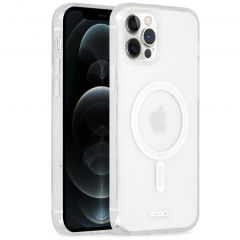 Accezz Cover trasparente con MagSafe iPhone 12 Pro Max - Trasparente