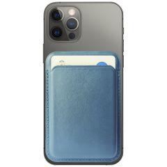 Accezz Portafoglio carta in Pelle con MagSafe - Blu scuro
