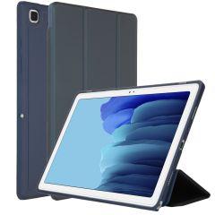 Accezz Smart Custodia a Libro in Silicone Samsung Galaxy Tab A7 - Blu scuro