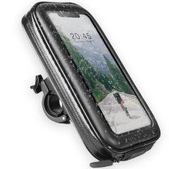 Accezz Supporto per cellulare universale per bici - Nero