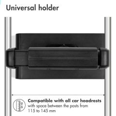 iMoshion Supporto universale per cellulare e tablet per auto - Nero