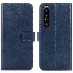 iMoshion Custodia Portafoglio de Luxe Sony Xperia 1 III - Blu scuro