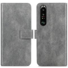 iMoshion Custodia Portafoglio de Luxe Sony Xperia 1 III - Grigio