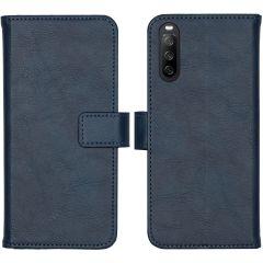 iMoshion Custodia Portafoglio de Luxe Sony Xperia 10 III - Blu scuro
