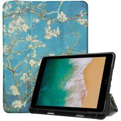 iMoshion Custodia a Libro Trifold iPad (2018) / (2017) / Air (2) - Green Plant
