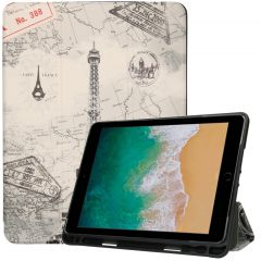 iMoshion Custodia a Libro Trifold iPad (2018) / (2017) / Air (2) - Paris