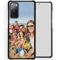 Cover Rigida Personalizzate Samsung Galaxy S20 FE - Nero