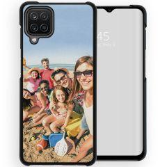 Cover Rigida Personalizzate Samsung Galaxy A12 - Nero