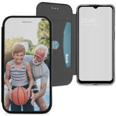 Custiodia Personalizzate (unilaterale) Samsung Galaxy A12 - Nero