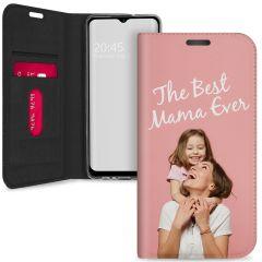 Custodia Portafoglio Personalizzate Samsung Galaxy A12 - Bianco