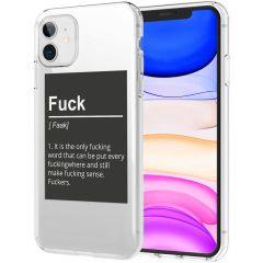 iMoshion Cover Design iPhone 11 - Fuck