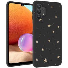 iMoshion Cover Design Samsung Galaxy A32 (4G) - Stars Gold
