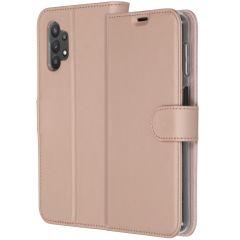 Accezz Custodia Portafoglio Flessibile Samsung Galaxy A32 (5G) - Rosa oro