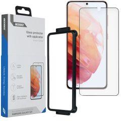 Accezz Pellicola Protettiva in Vetro Temperato + Applicatore Samsung Galaxy S21