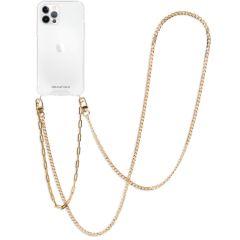iMoshion Cover con Cordino + Bracciale - Collana iPhone 12 (Pro) - Oro