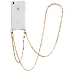 iMoshion Cover con Cordino + Bracciale - Collana iPhone SE (2020) / 8 / 7 - Oro