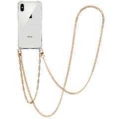 iMoshion Cover con Cordino + Bracciale - Collana iPhone Xs / X - Oro