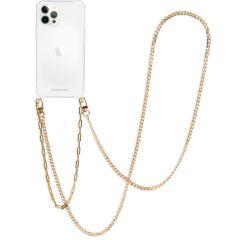 iMoshion Cover con Cordino + Bracciale - Collana iPhone 12 Pro Max - Oro