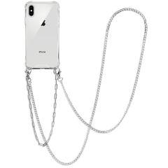 iMoshion Cover con Cordino + Bracciale - Collana iPhone Xs / X - Argento