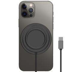 Accezz Caricabatterie Wireless da USB-C a MagSafe antiscivolo - Nero