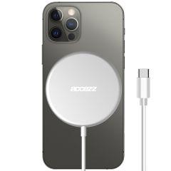 Accezz Caricabatterie Wireless da USB-C a MagSafe - 15 W - Argento
