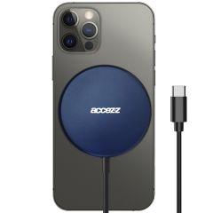 Accezz Caricabatterie Wireless da USB-C a MagSafe - 15 W - Blu