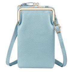 iMoshion Custodia borsa in Pelle Vegana per cellulare - Blu