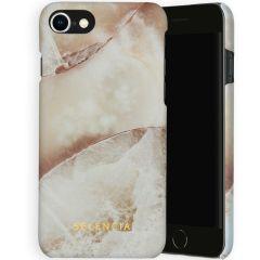 Selencia Maya Cover Fashion iPhone SE (2020) / 8 / 7 / 6(s) - Earth White