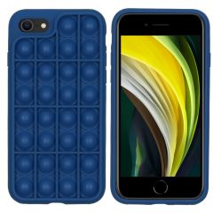 iMoshion Cover Pop It Fidget Toy iPhone SE (2020) / 8 / 7 - Blu scuro