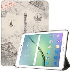 iMoshion Custodia a Libro Trifold Samsung Galaxy Tab S2 9.7 - Paris