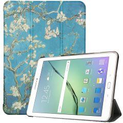 iMoshion Custodia a Libro Trifold Samsung Galaxy Tab S2 9.7 - Green Plant