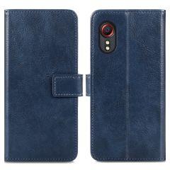 iMoshion Custodia Portafoglio de Luxe Samsung Galaxy Xcover 5 - Blu scuro