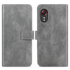 iMoshion Custodia Portafoglio de Luxe Samsung Galaxy Xcover 5 - Grigio