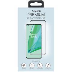 Selencia Pellicola Protettiva Premium in Vetro Temperato OnePlus 9 Pro - Nero
