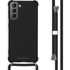 iMoshion Cover Color con Cordino Samsung Galaxy S21 - Nero