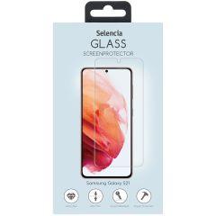 Selencia Pellicola Protettiva in Vetro Temperato Samsung Galaxy S21