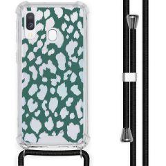 iMoshion Cover Design con Cordino Samsung Galaxy A40 - Leopard