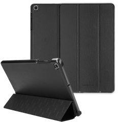 Selencia Kesia Custodia a Libro Trifold Serpente Samsung Galaxy Tab A 10.1 (2019) - Nero