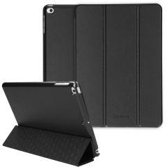 Selencia Nuria Custodia a Libro Trifold in Pelle Vegana iPad (2018 / 2017) / Air (2) / Pro 9.7 - Nero