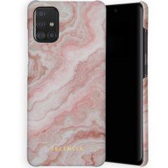 Selencia Maya Cover Fashion Samsung Galaxy A71 - Marble Rose