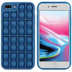iMoshion Cover Pop It Fidget Toy iPhone 8 Plus / 7 Plus - Blu scuro
