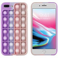 iMoshion Cover Pop It Fidget Toy iPhone 8 Plus / 7 Plus - Rosa