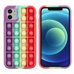 iMoshion Cover Pop It Fidget Toy iPhone 11 - Multicolore