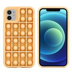 iMoshion Cover Pop It Fidget Toy iPhone 11 - Oro